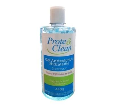 PROTE E CLEAN GEL ANTIS. HIDRATANTE 440 GR