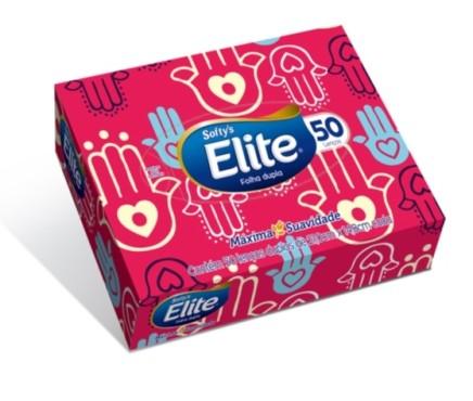 lenco de papel softys com 50