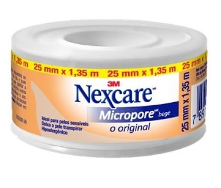 3M ESPARADRAPO MICROPORE BEGE 25X 1.35