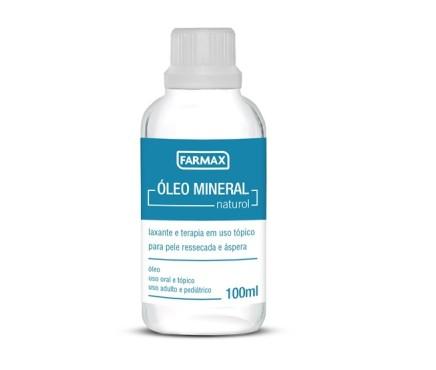 farmax oleo mineral naturol 100ml