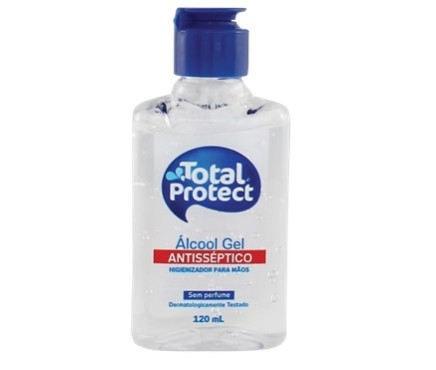 TOTAL PROTECT ALCOOL GEL 120ML NEUTRO